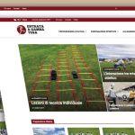 realizzazione sito web Entrata a gamba tesa