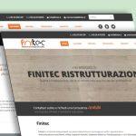 realizzazione sito web Finitec
