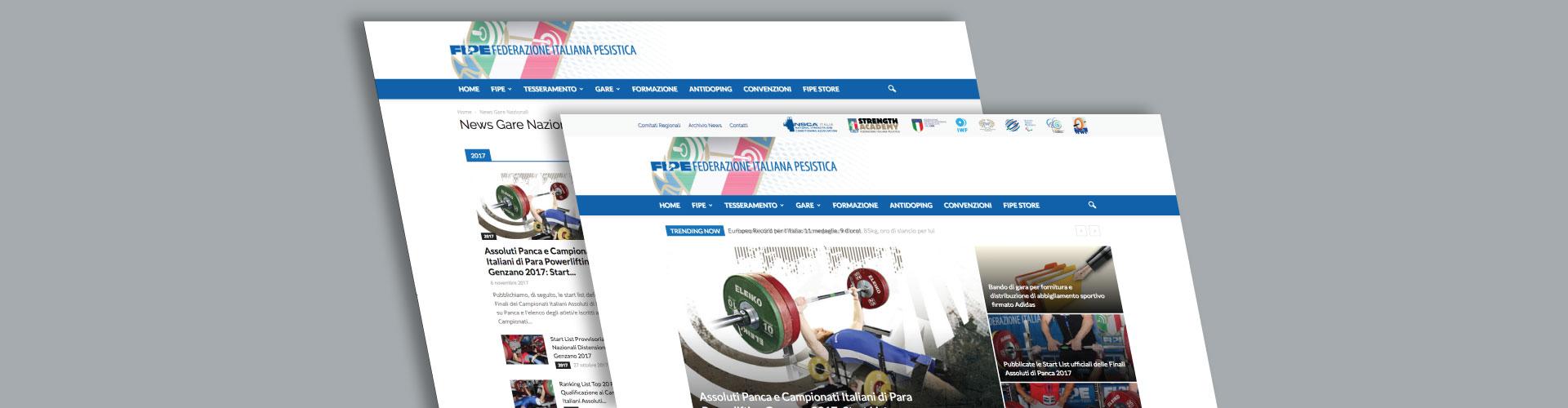 realizzazione sito web Fipe