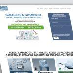 Realizzazione Landing page per Vendita Ghiaccio