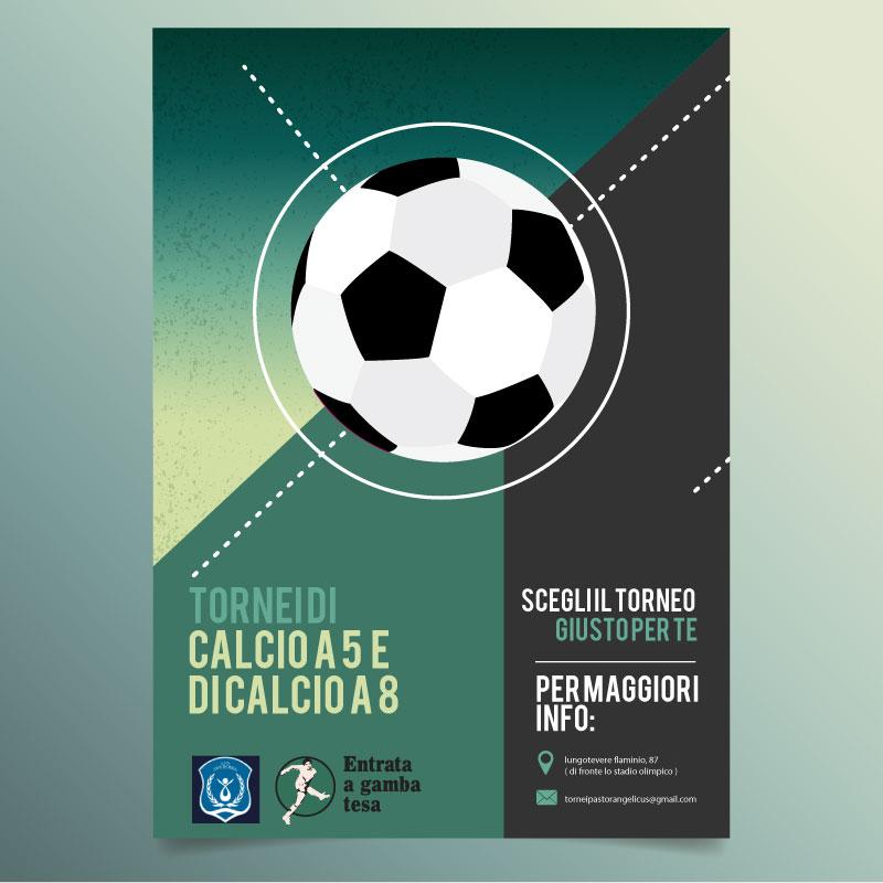 Banner pubblicitario Tornei Calcio