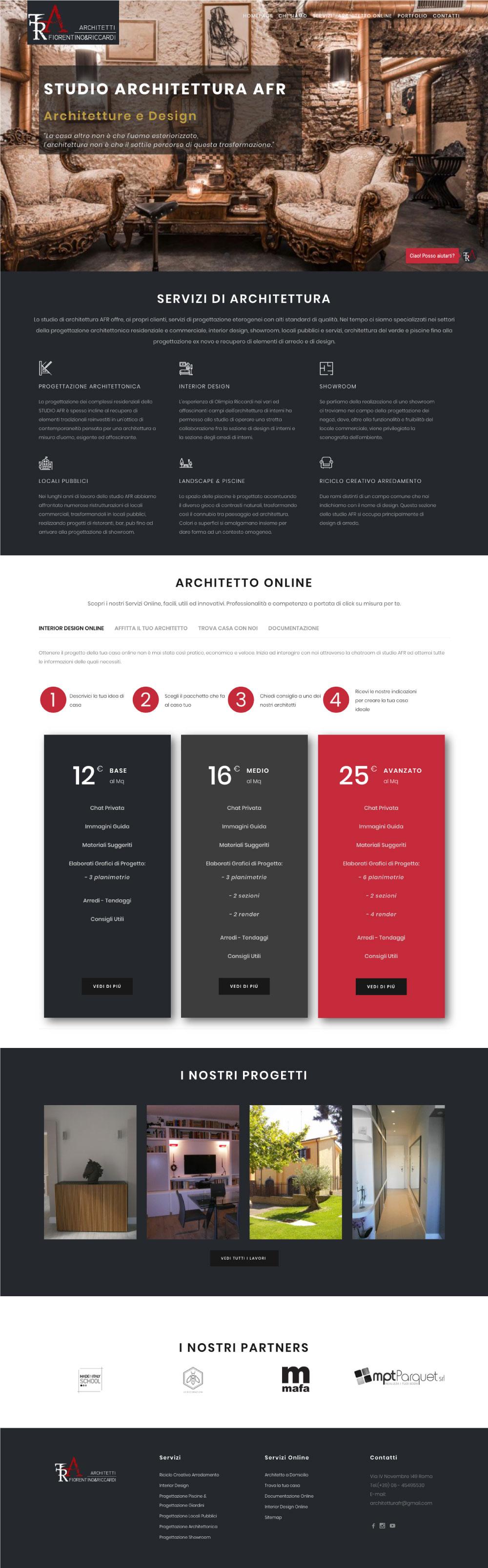 studio architettura afr architetture e design