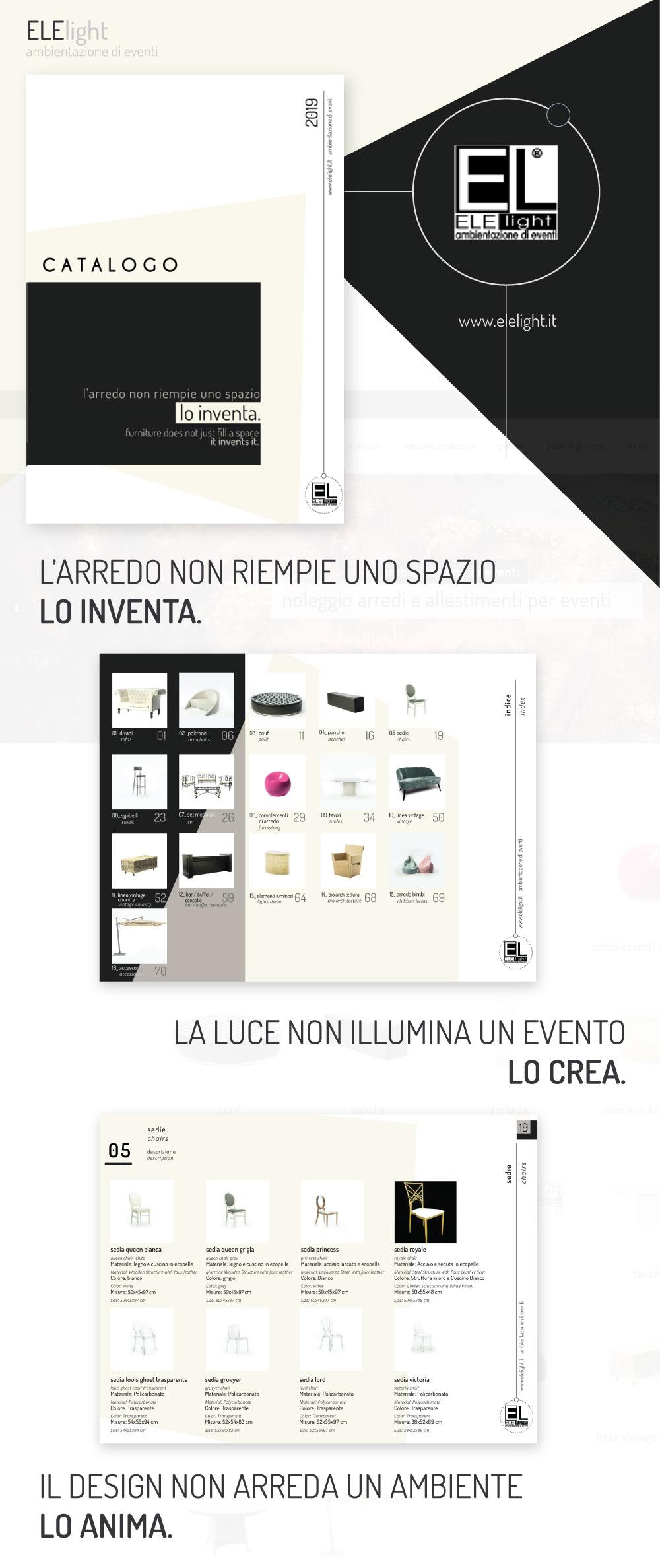layout catalogo elelight