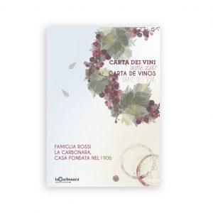 Carta dei Vini per la ©arbonara