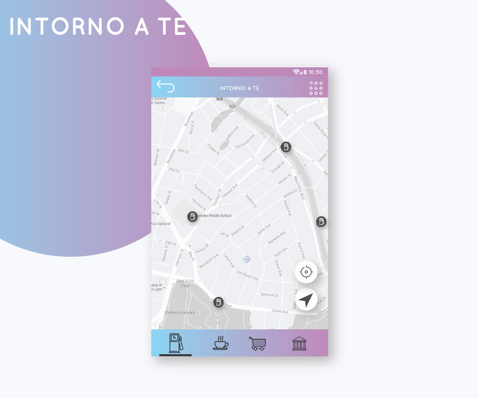 App Mockup up - Mototurismo FMI Intorno a te