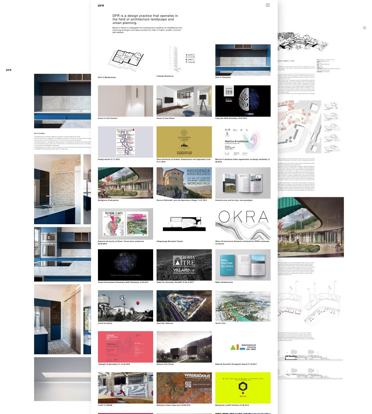 DFR Architecture schermate