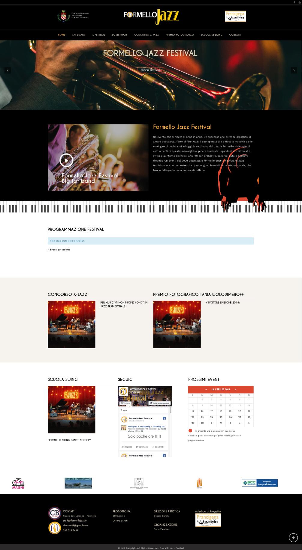formellojazz layout sito