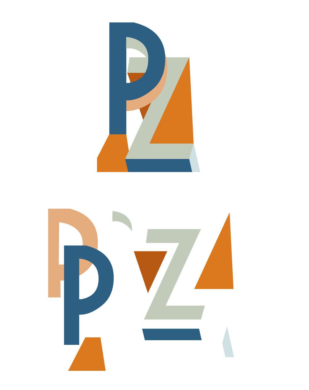 P.Z Costruzione Logo