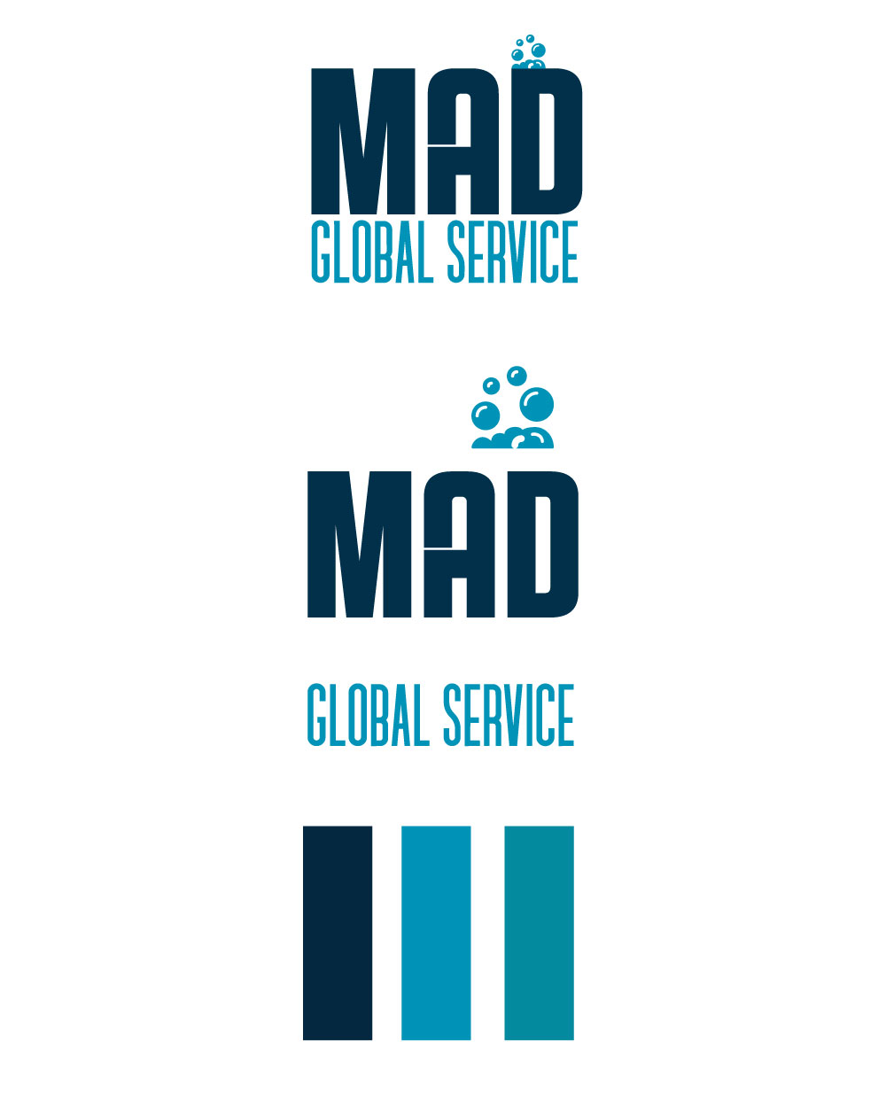 MAD Global Service Costruzione Logo